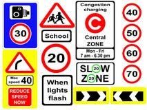 сортированные дорожные знаки Стоковая Фотография