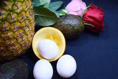 Сортированные детали завтрака Стоковое Изображение