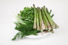 сортированные зеленые цвета vegetable Стоковая Фотография