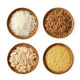 сортированные зерна Стоковая Фотография RF
