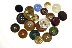 сортированные кнопки Стоковая Фотография