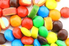 Сортированные конфеты Стоковое Фото