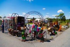 Сортированные красочные орнаменты лужайки Стоковые Фото