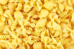 сортированные макаронные изделия uncooked Стоковое Фото