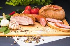 Сортированные мясные продукты стоковое фото rf
