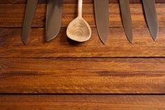 Сортированные ножи Стоковое Изображение RF