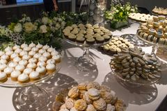 Сортированные печенья всех видов Стоковое Фото