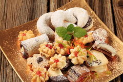 сортированные печенья Стоковые Фото