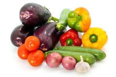 Сортированные свежие овощи Стоковое фото RF