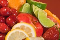 сортированные свежие фрукты Стоковая Фотография