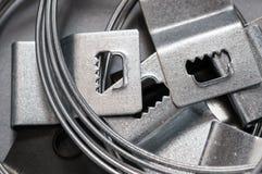 Сортированные стальные крюки и провода Стоковое Изображение RF