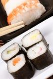 сортированные суши палочек стоковые изображения rf