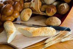 Сортированные хлебы и крены Стоковое фото RF