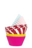 сортированные чашки пирожня Стоковые Фото
