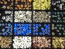 Сортированные шарики браслета или шарма моды Стоковое фото RF