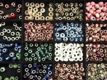 Сортированные шарики браслета или шарма моды Стоковые Фото