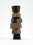 Сортированные шоколады. Стоковое Фото