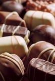 сортированные шоколады Стоковая Фотография