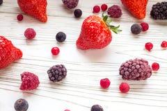 сортированные ягоды стоковое фото