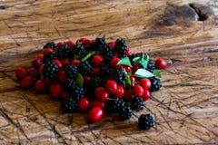 сортированные ягоды Стоковое Изображение RF