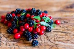 сортированные ягоды Стоковые Изображения RF