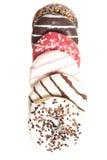 Сортированные Donuts изолированные на белизне Стоковая Фотография RF