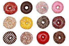 Сортированные Donuts Стоковые Фото