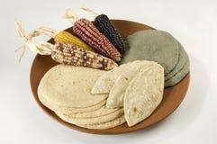 сортированные tortillas диска Стоковое Изображение RF