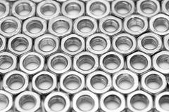 сортированный винт предпосылки nuts Стоковые Фото