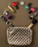 Сортированный в косметической сумке Стоковое Изображение RF