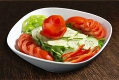 сортированный приправленный салат Стоковая Фотография RF