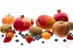Сортированный плодоовощ с силами Multivitamin Стоковая Фотография RF