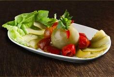 сортированный салат солениь Стоковое Изображение RF