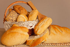 Сортированный традиционный хлеб Стоковая Фотография
