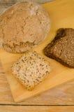 Сортированный хлеб всей пшеницы Стоковое Фото