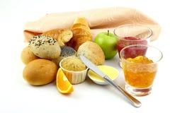 Сортированный хлеб завтрака Стоковое Изображение