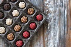 сортированный шоколад конфет Стоковые Фотографии RF