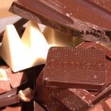 сортированный шоколад штанг Стоковые Изображения