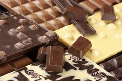 сортированный шоколад Стоковые Изображения RF
