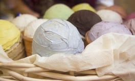 сортированный cream льдед стоковое фото rf