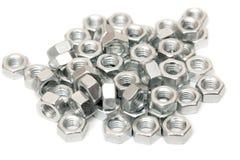 сортированный nuts винт Стоковая Фотография