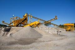 Сортируя завод - горнодобывающая промышленность Стоковая Фотография