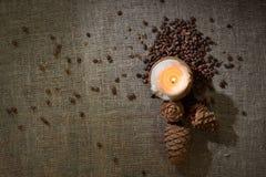 сосенка мешковины nuts Стоковое Изображение RF