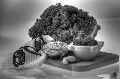 сосенка петрушки чеснока nuts Стоковое Изображение RF