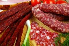 сосиска мяса Стоковое Изображение