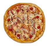 сосиска пиццы Стоковые Изображения