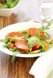 сосиска салата chorizo стоковые изображения