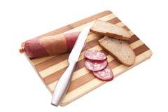 сосиска сандвича подготовок Стоковые Изображения