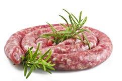 сосиска свинины сырцовая стоковые фотографии rf