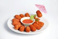 сосиска соуса chili Стоковое Фото